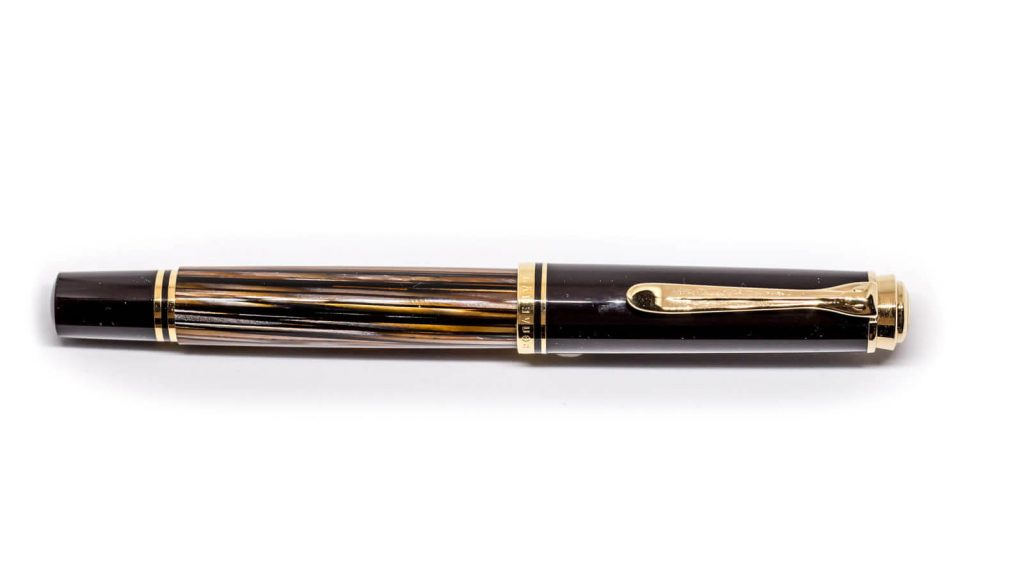 Vista general Pelikan M400 Tortoise Brown SE 2016