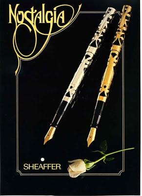 Sheaffer Nostalgia anuncio 2