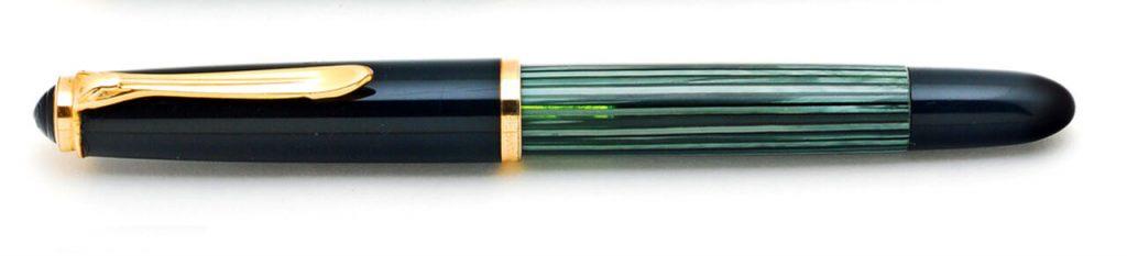 Pelikan 400NN verde rayado