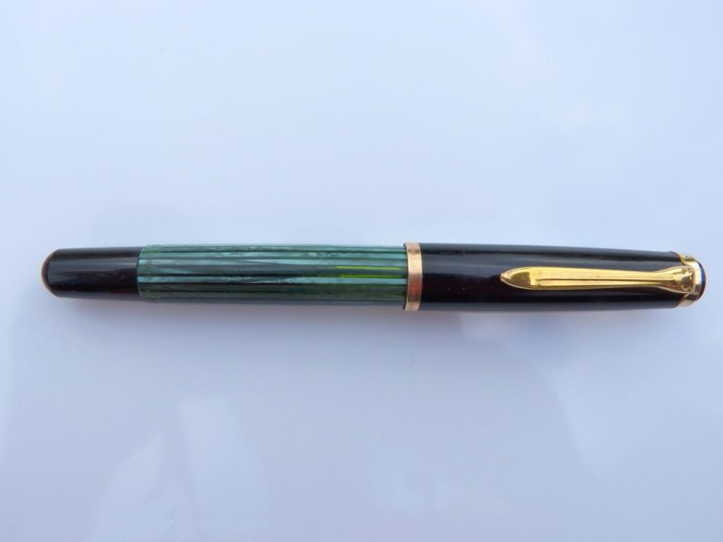 Pelikan 400N color verde