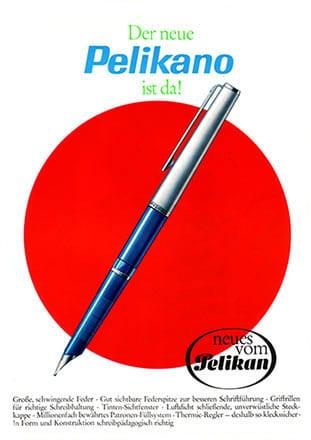 Pelikano escolar anuncio 1965