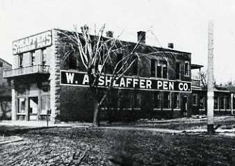 Primera fábrica de Sheaffer