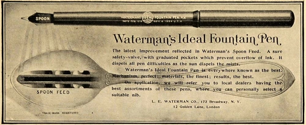 Waterman Spoon Feed
