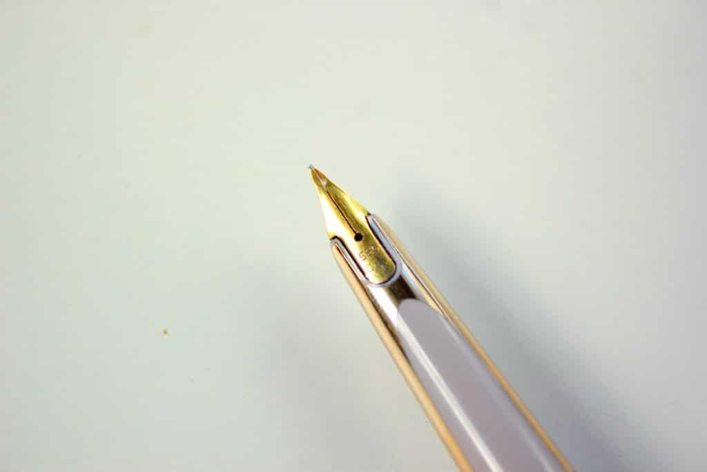 Detalle del plumín