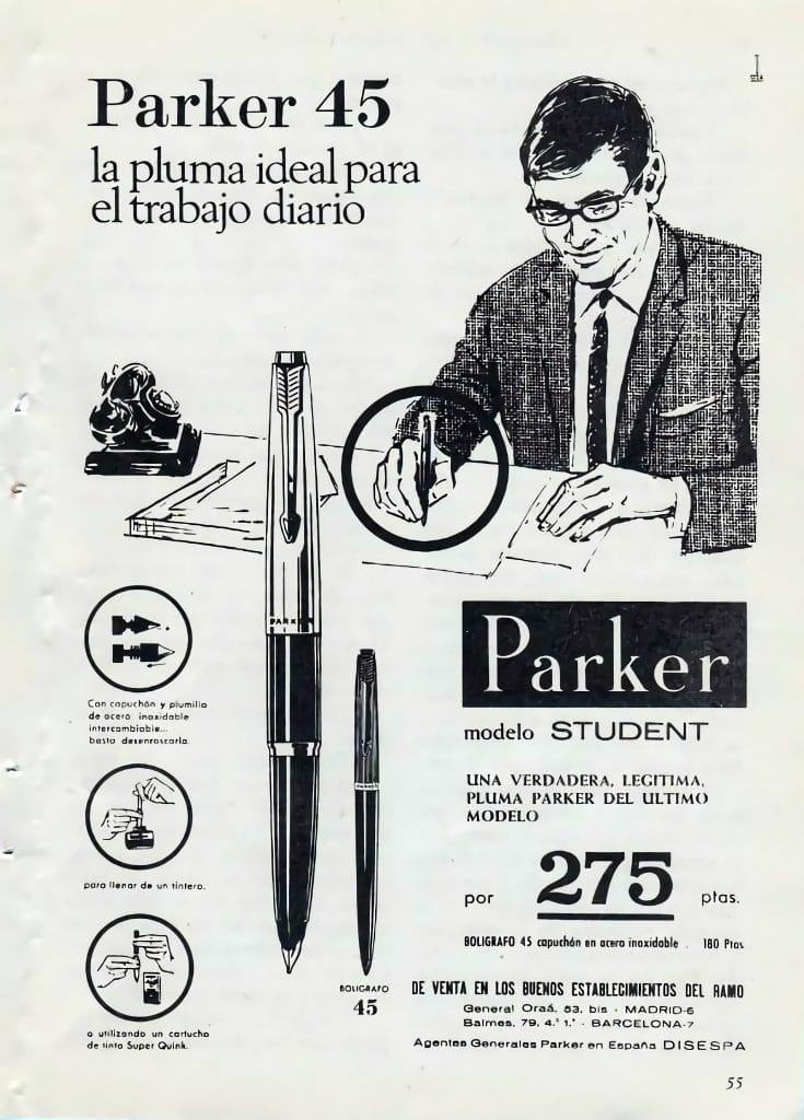 Anuncio Parker 45