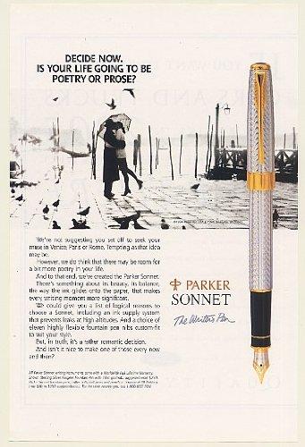 Anuncio Parker Sonnet 1994