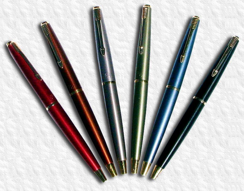 Todos los colores de la Parker 45 Coronet