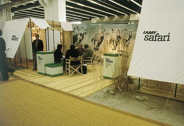 Stand promocional de la Lamy Safari