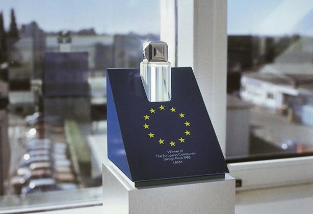 Premio de diseño de 1988 otorgado a Lamy