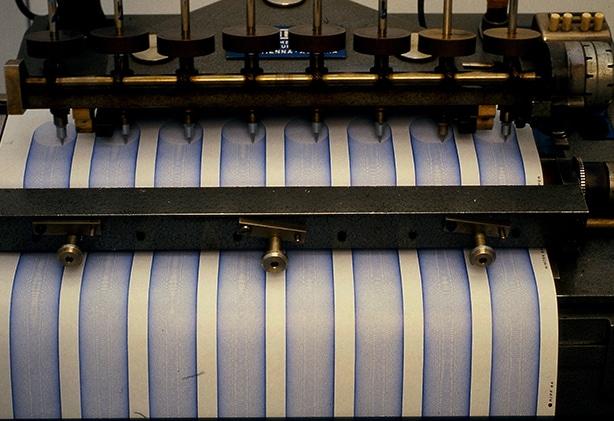 Máquina probando tintas Lamy