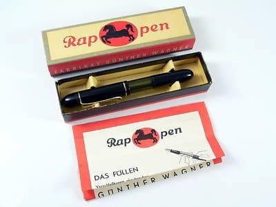 Presentación con caja Pelikan Rappen
