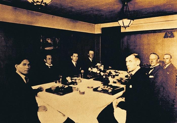 Cena encuentro Namiki Dunhill
