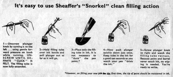 Instrucciones de llenado sistema snorkel