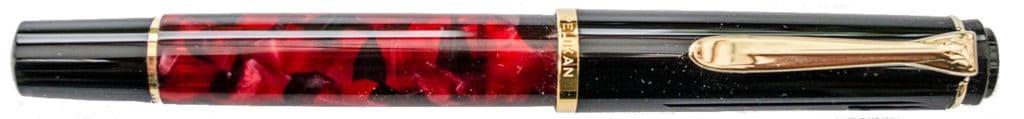 Pluma en rojo para Fahrney's Pens