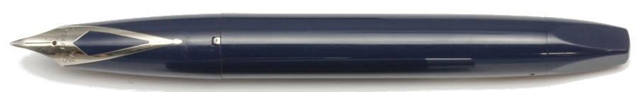 Pluma Sheaffer PFM azul desencapuchada