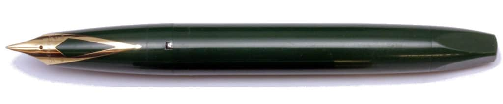 Sheaffer Pen For Men III en verde desencapuchada