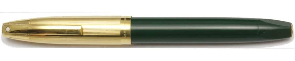 Sheaffer PFM V verde encapuchada