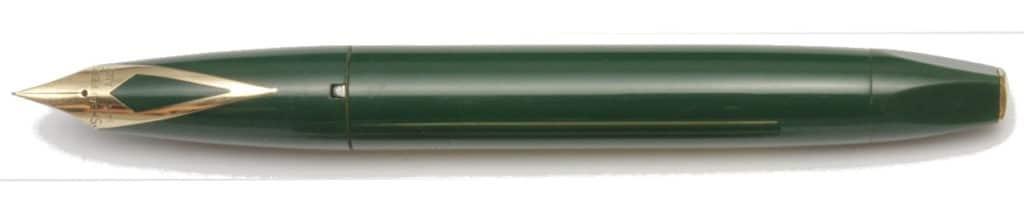 Sheaffer PFM V verde desencapuchada