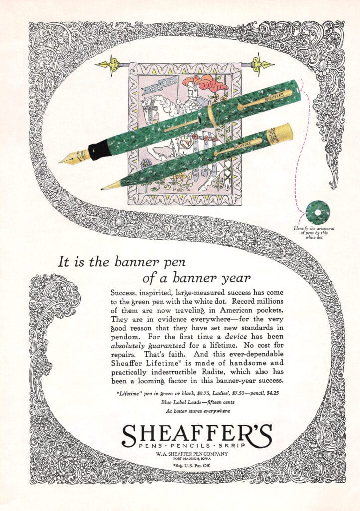 Anuncio de Lifetime de 1926