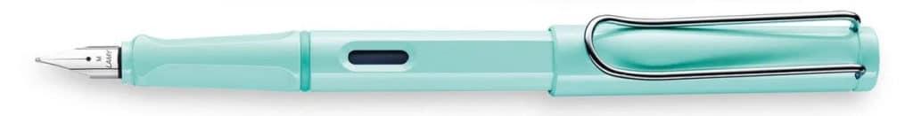 Lamy safari en azul pastel del 2019 posteada