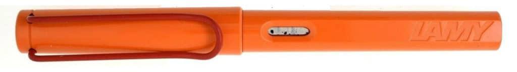 """Lamy Safari edición especial naranja """"The Flame"""" encapuchada"""