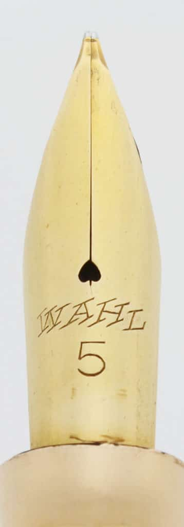 Wahl All Metal Pen 1921-29 plumín