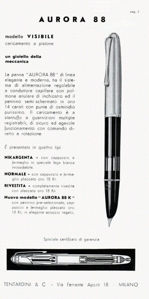 Anuncio del modelo 88K de Aurora