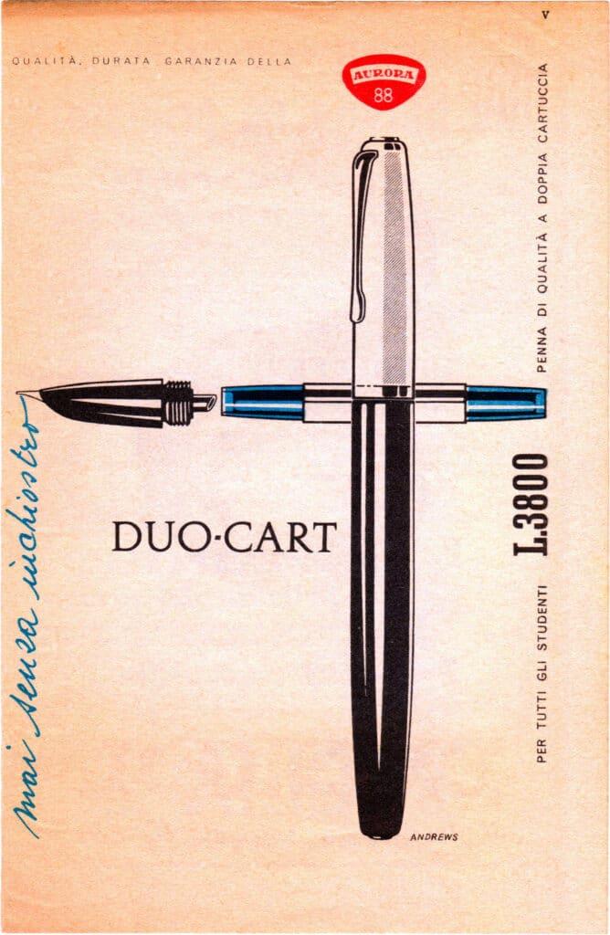 Anuncio Duo Cart años 50