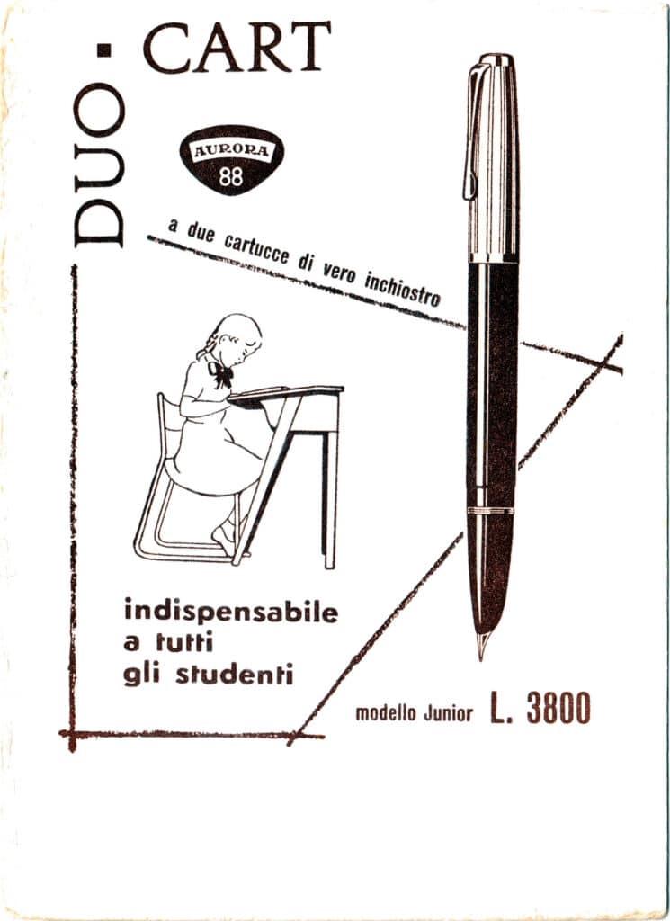 Anuncio de una Dou Cart Junior de los años 50
