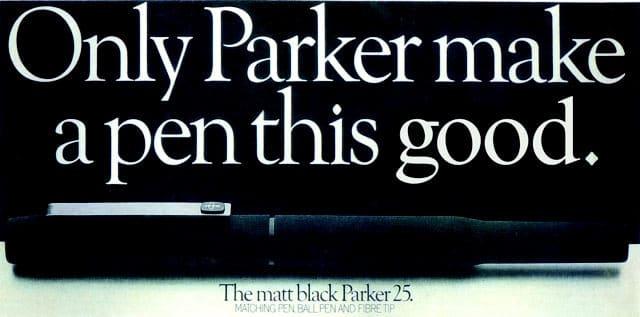 Anuncio Parker 25