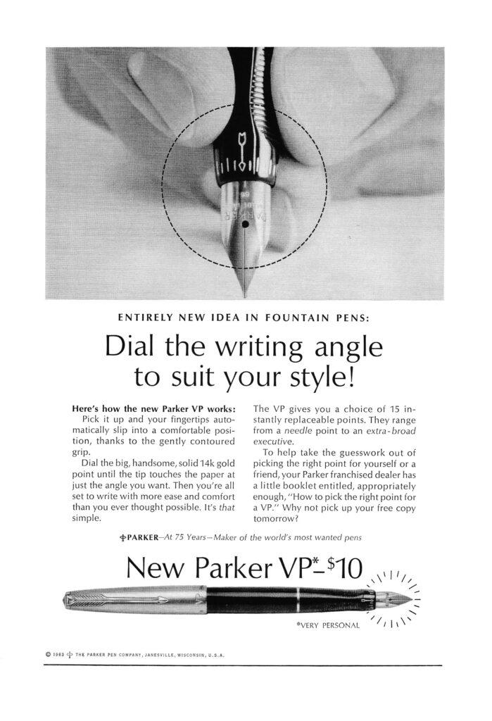 Anuncio Parker VP