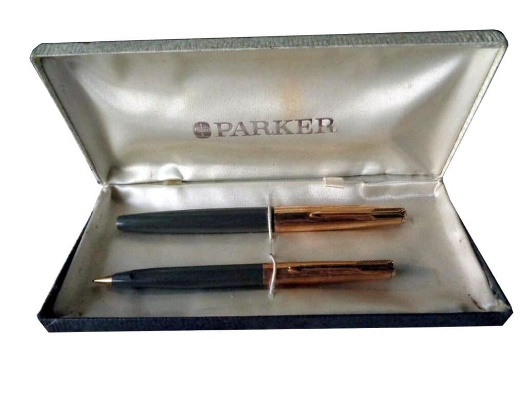 Plumas Parker VP con su portaminas en caja original
