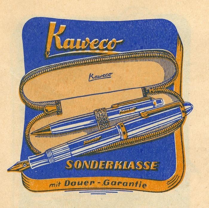 Anuncio Kaweco Sonderklasse