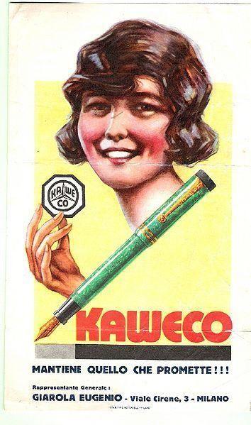 Anuncio Kaweco vintage