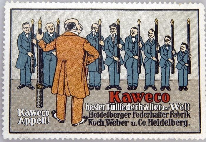 Anuncio Kaweco años 10-20