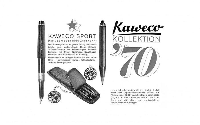 Kaweco Sport Set Juegos Olímpicos Munich 72