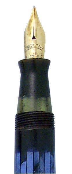 Detalle del plumín de una Eversharp Pacemaker