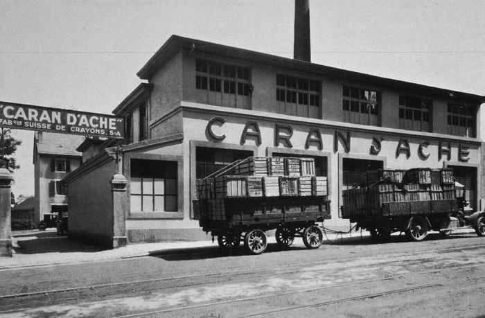 Fábrica original de Caran d'Ache