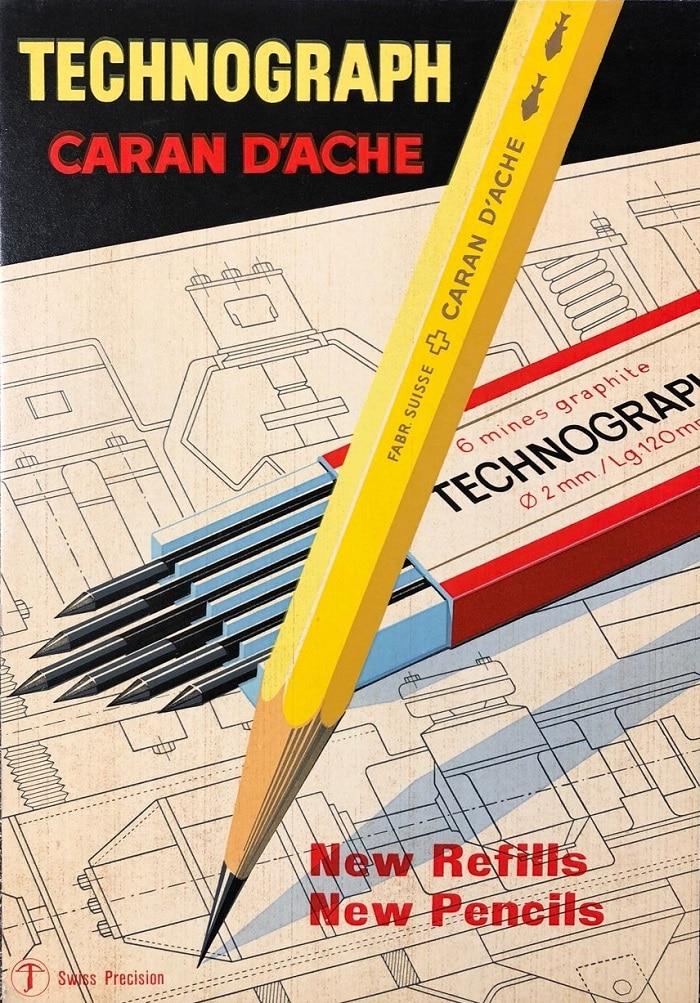 Caran d'Ache Publicidad Technograph