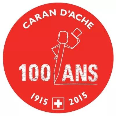 Logo 100 aniversario Caran d'Ache