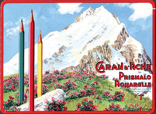 Publicidad Lápices Prismalo Caran d'Ache 1931