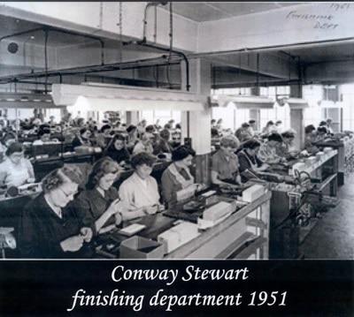 Fábrica Conway Stewart en 1951
