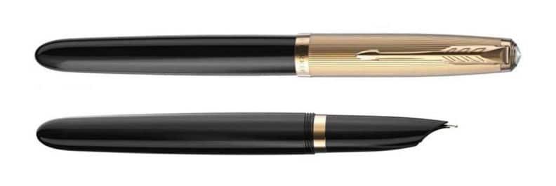 Parker 51 Deluxe 2021 en negro.