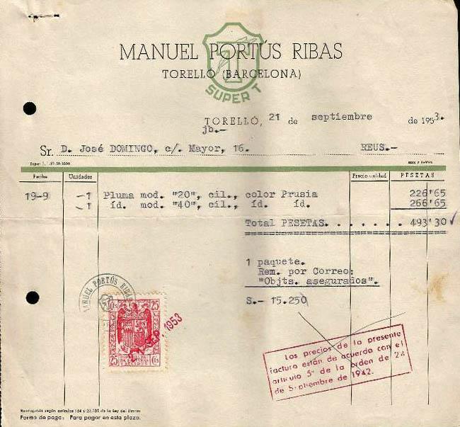 Albarán Manuel Portús Ribas, Super T