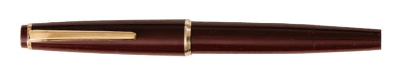 Montblanc modelo original 32 en color burgundy