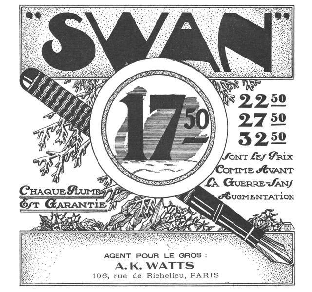 Swan over-under anuncio